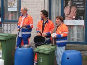 Tijdens de openingsact van Lunetjes in 2010