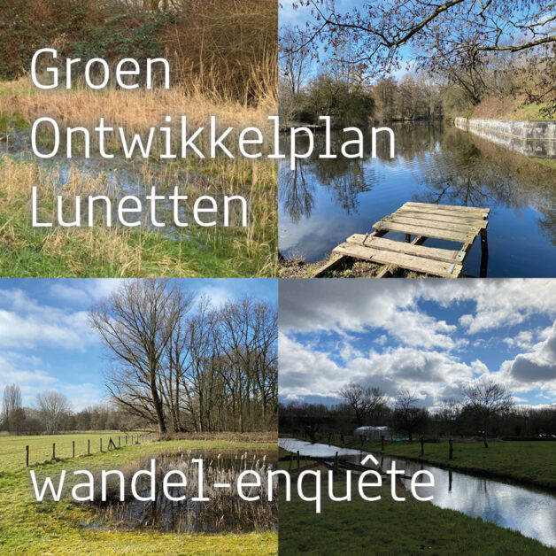 Enquête Groen Ontwikkelplan Lunetten
